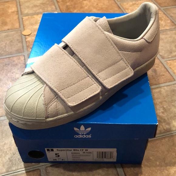 Nib 5 Adidas Superstar 8s Cf W